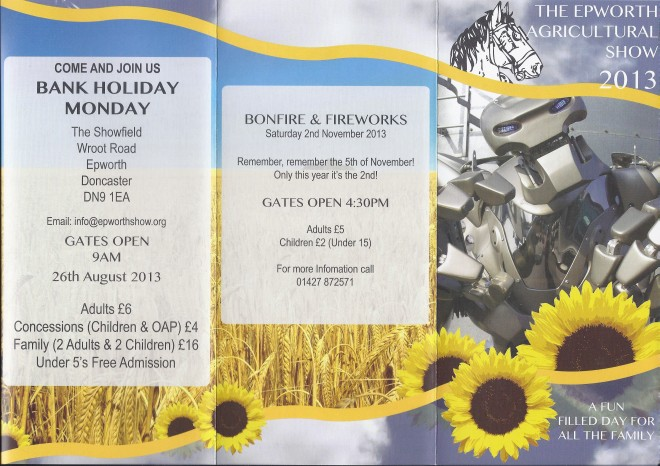 Epworth Agricultural Show