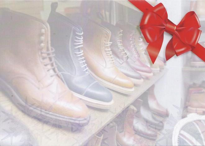Shoe healer card front