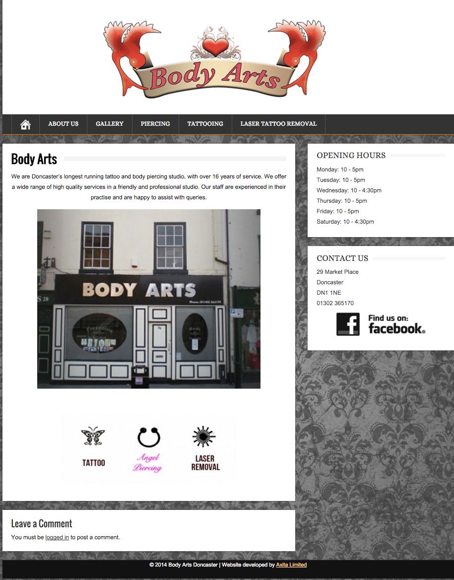 Body Arts Axita Limited